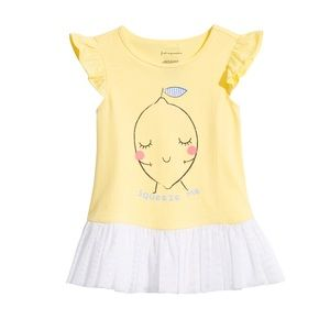 NWT First Impressions Yellow Summer Shirt Top 12mo